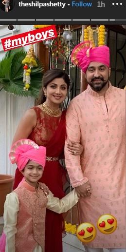 India Tv - Shilpa Shetty's Instagram story