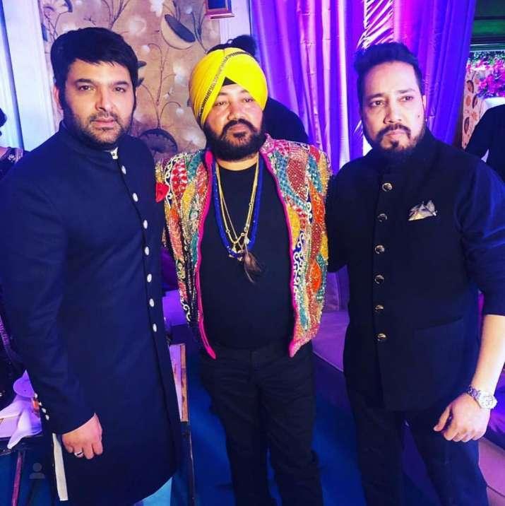 India Tv - Kapil Sharma, Ginni Chatrath Delhi Reception