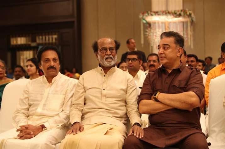 India Tv - Kamal Haasan at Soundarya Rajnikanth wedding reception