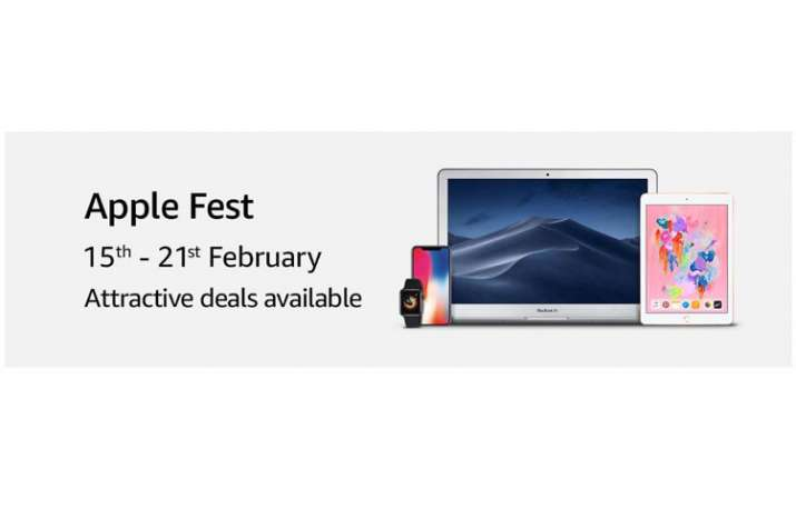 Amazon Apple Fest: iPhone X, XR, iPad Pro and MacBook Air on discounts and more