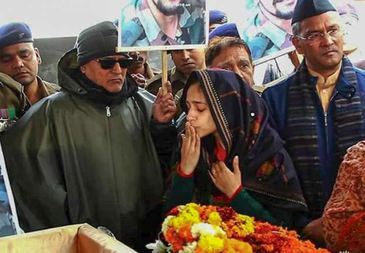 Dehradun: Nitika Kaul, wife of Major Vibhuti Shankar