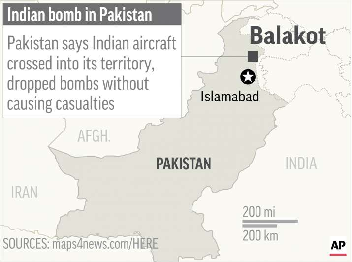 India Tv - Balakot is located in Pakistan