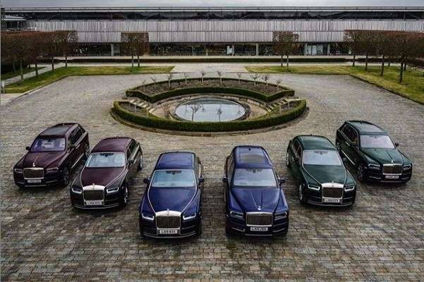 The new fleet bought by the car enthusiast includes three
