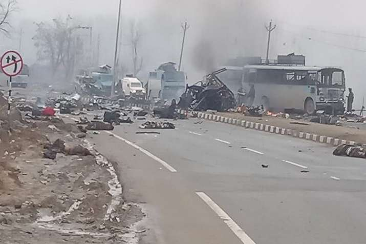 India Tv - The incident is the worst terror attack on security forces since 2016 Uri attack.
