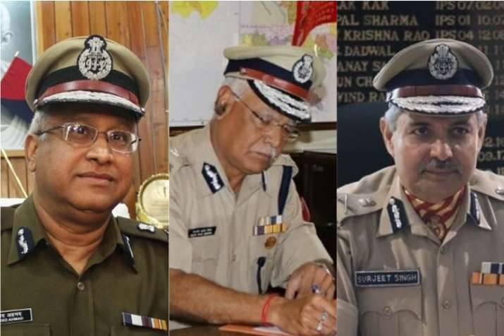 India Tv - Javeed Ahmed, Rajni Kant Misra and SS Deswal are three senior IPS officers from 1984 batch, with a stellar track record.  (L to R)