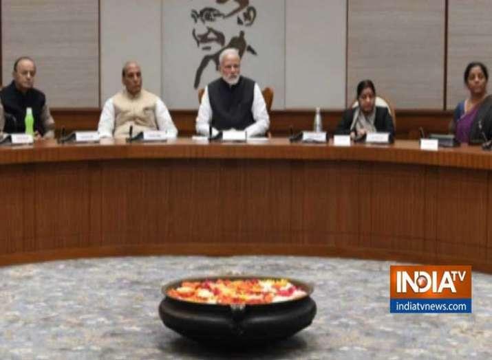 India Tv - PM chairs CCS meet