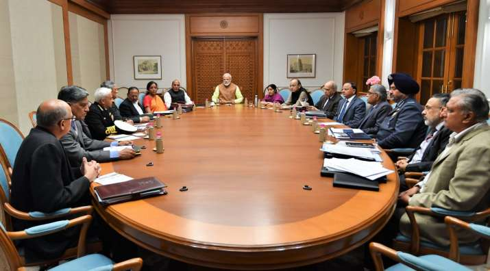 India Tv - Cabinet Committee of Security meeting has concluded at 7 Lok Manya Tilak (PM residence)