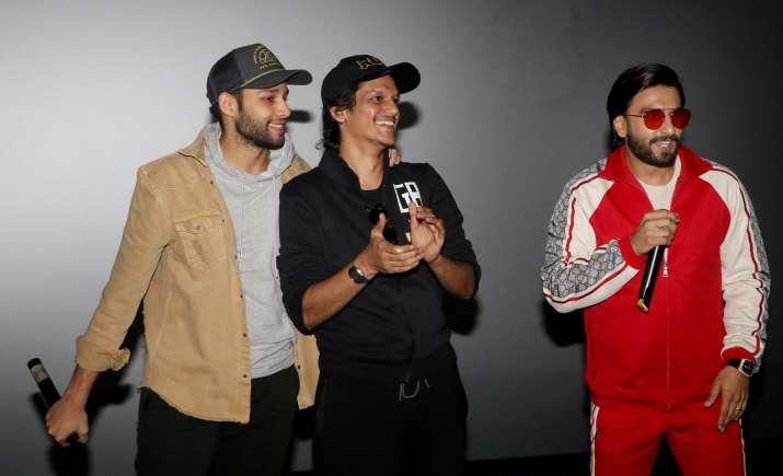 India Tv - Gully Boy team