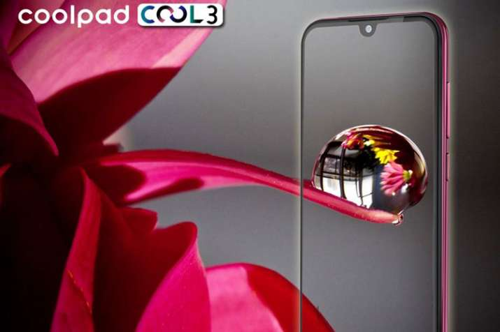 Coolpad Cool 3 with water-drop notch launching in India on February