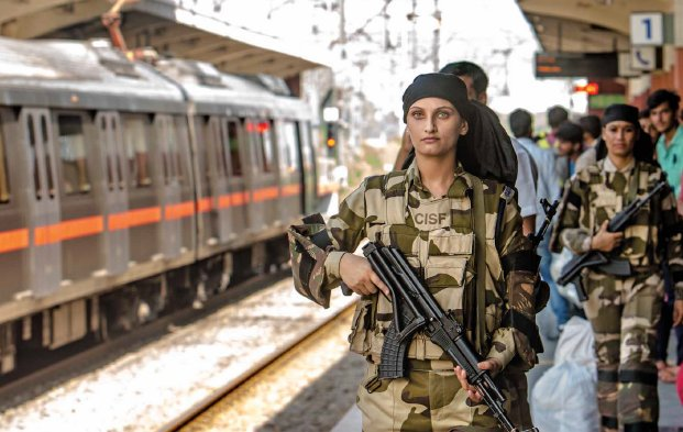India Tv - Security increased in national capital: A red alert has been issued across Delhi metro network as well.