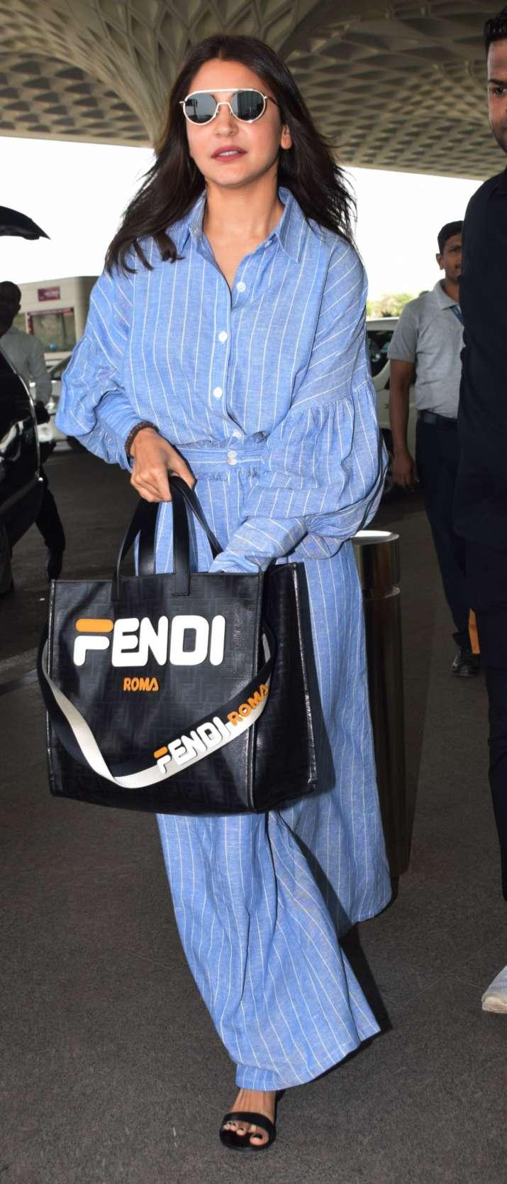 India Tv - Anushka Sharma's Fendi handbag