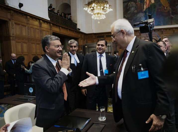 Government of India's agent Deepak Mittal greeted