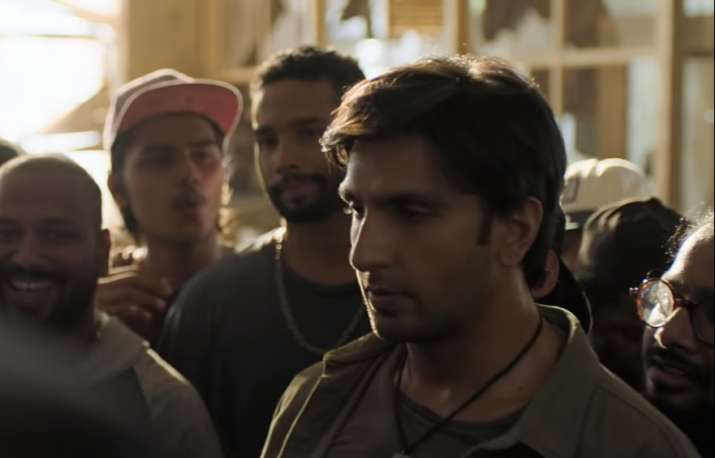 India Tv - Ranveer Singh  in Gully Boy