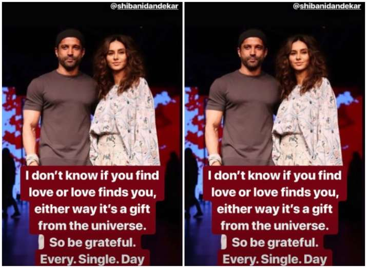 India Tv - Farhan Akhtar's latest post for girlfriend Shibani Dandekar is touching; Find out