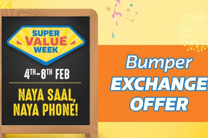 Flipkart Super Value week kicks off with top discounts on products between 4th to 8th Feb
