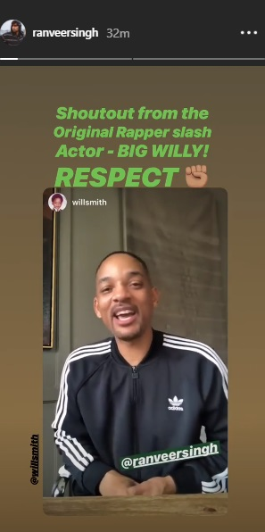 India Tv - Ranveer Singh and Will Smith