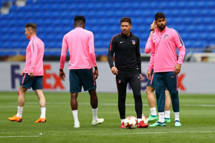 Renewed contract with Atletico Madrid for my players: Coach Diego Simeone