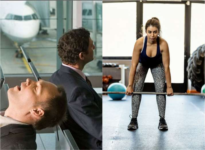 Maintain healthy lifestyle and beat effects of jet lag and shift-based work; Exercise is the key