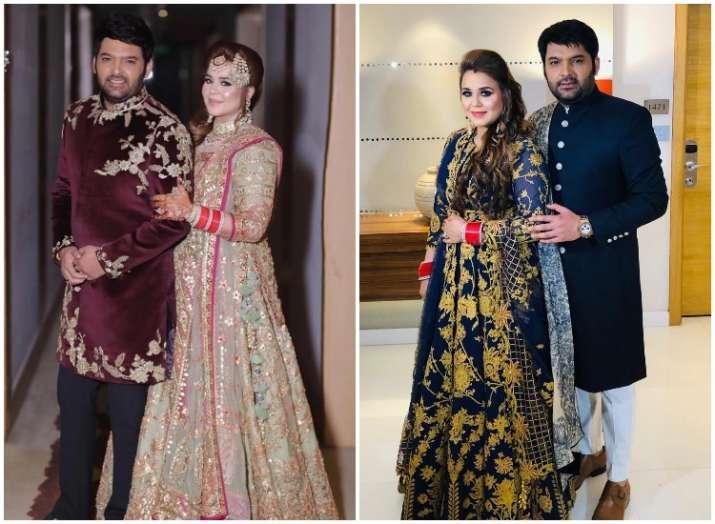 Kapil Sharma and Ginni Chatrath share first PHOTO from their Delhi wedding reception