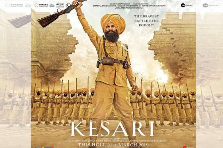 Kesari new poster: Akshay Kumar all set to unfold the story of 'bravest battle ever fought'