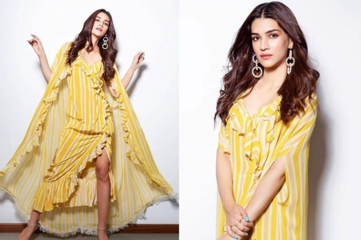 Kriti Sanon's promotional looks for Luka Chuppi are to die for; See for yourself