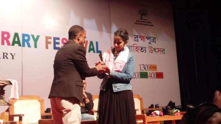 India Tv - Brahmaputra Literary Festival 2019: Actress Manisha Koirala attends third edition in Assam