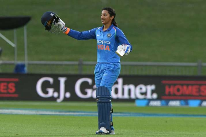 Smriti Mandhana hits fastest T20I fifty by an Indian woman, betters own record