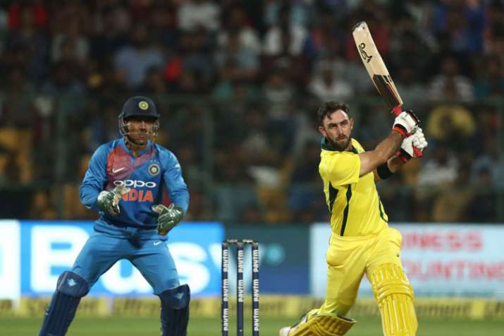 2nd T20I: Maxwell's blistering century powers Australia to clean sweep India in Bengaluru