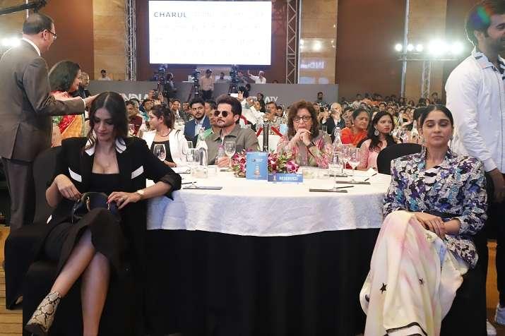 India Tv - Sonam Kapoor with Regina Cassandra