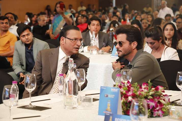 India Tv - Editor-in-Chief Rajat Sharma with Anil Kapoor