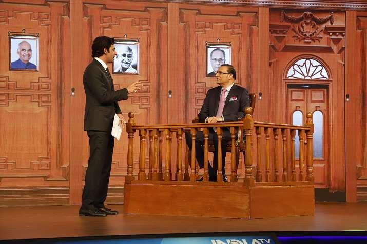 rajat sharma questioned on aap ki adalat