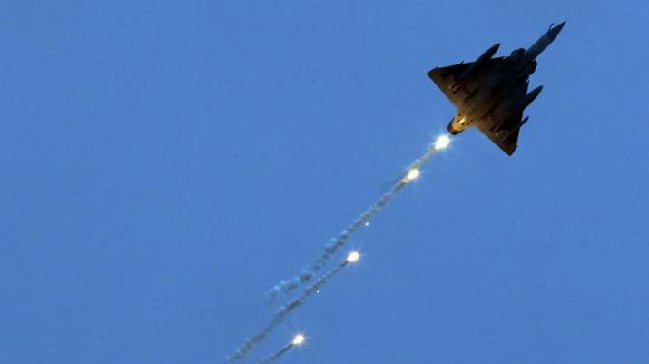 In this Oct 8, 2013 file picture a Mirage 2000 fighter