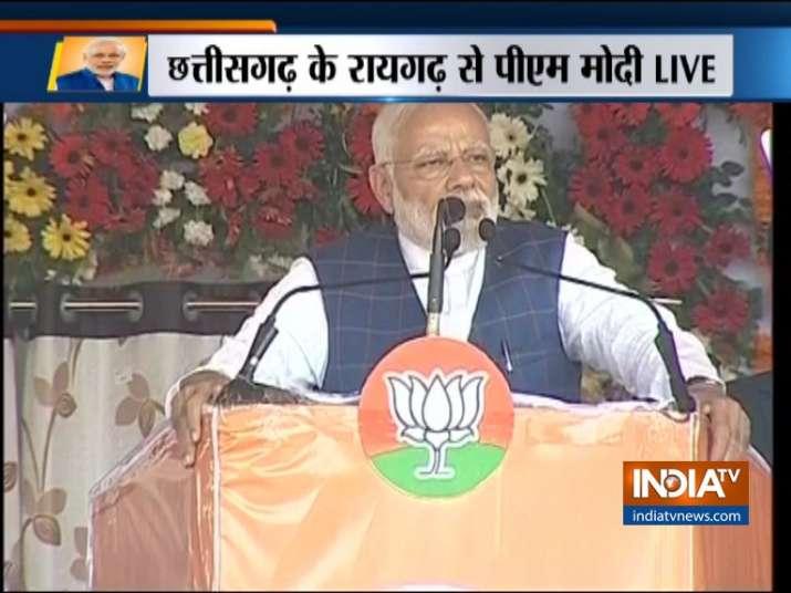 PM Modi in Raigarh