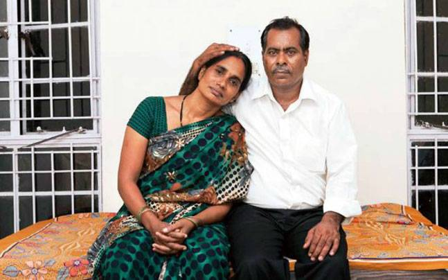 Parents of Nirbhaya, who was gangraped on December 16, 2012