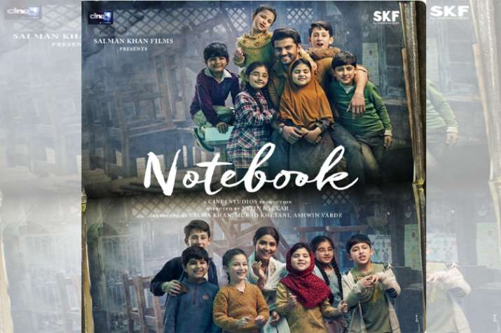 Notebook new poster out: Trailer of Pranutan Bahl, Zaheer Iqbal's film to release tomorrow