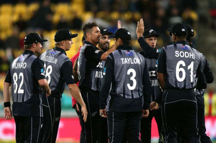 India vs New Zealand, 1st T20I Live Cricket Score