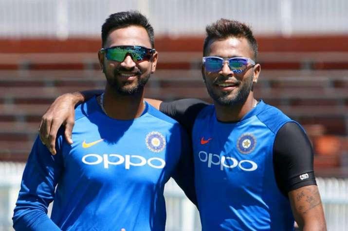Hardik Pandya and Krunal Pandya also play together for