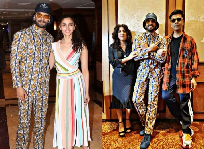 Ranveer Singh and Alia Bhatt are busy promoting their upcoming Bollywood film Gully Boy.