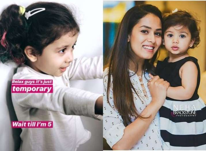 Mira Kapoor gets daughter Misha's hair coloured, shares adorable pictures