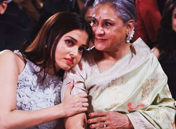 Image result for jaya bachchan and aishwarya