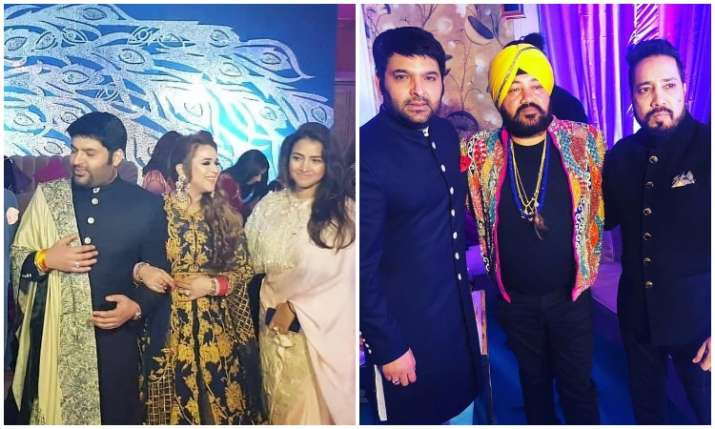 Kapil Sharma, Ginni Chatrath Delhi Reception: