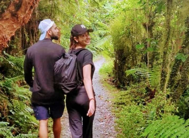 Anushka Sharma and Virat Kohli's date in the woods give us butterflies in the stomach
