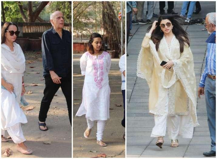 Raj Kumar Barjatya Funeral: Mahesh Bhatt, Swara Bhasker,