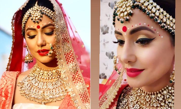 hina khan bengali bride in kasautii zindagii kay 2