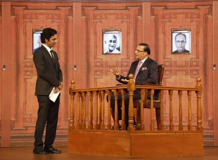 I have been waiting to grill Rahul Gandhi in Aap Ki Adalat, Rajat Sharma tells Sunil Grover at India