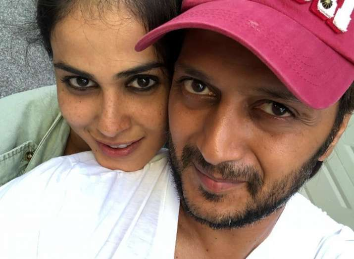 Genelia D'souza pens heartfelt note for husband and best friend Riteish Deshmukh