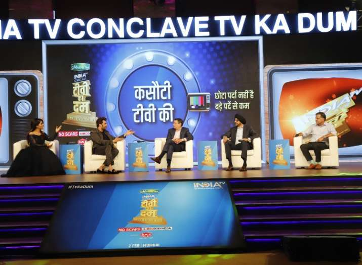 India Tv - Udhay Shankar, NP Singh, Raj Nayak reveal the connection between content and TRPs