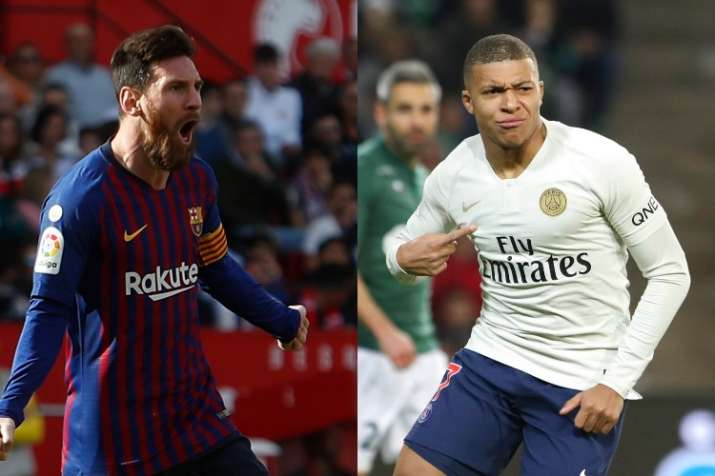 Football symmetry in Europe: Mbappe, Messi reach incredible