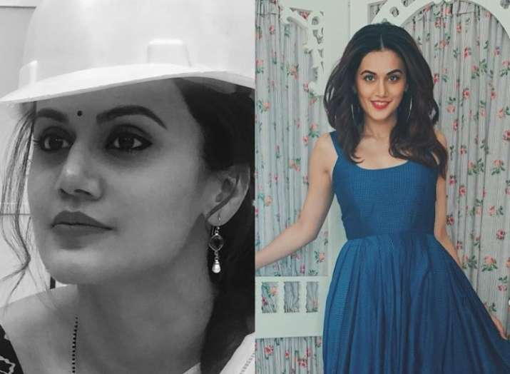 Tapsee Pannu reveals her look from Akshay Kumar's Mission Mangal, wraps up film
