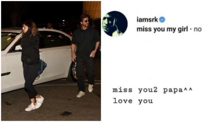 Shah Rukh Khan is missing daughter Suhana Khan